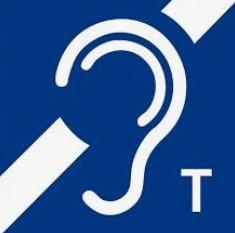 Zeichen für die Selbsthilfegruppe für Menschen mit Hörbeeinträchtigung.